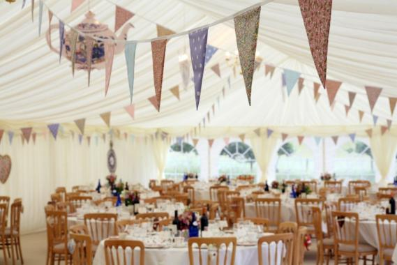 English Wedding Bunting