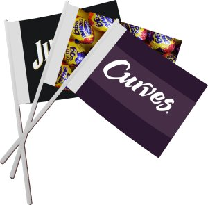 Product Promotion Hand Waving Flags